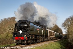 34092 City of Wells (Jack Haynes Photography) Tags: 34053 sir keith park 34092 city wells swanage railway strictly bullied dorset preservation heritage purbecks