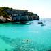 Panorámica de Cala Macarella. Menorca.