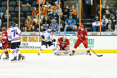 "Missouri Mavericks vs. Allen Americans, March 3, 2017, Silverstein Eye Centers Arena, Independence, Missouri.  Photo: John Howe / Howe Creative Photography • <a style=""font-size:0.8em;"" href=""http://www.flickr.com/photos/134016632@N02/33232470766/"" target=""_blank"">View on Flickr</a>"