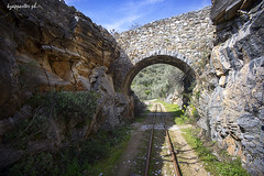 Hatzakos (kzappaster) Tags: stonebridge bridge sony sonya7 a7 vivitar vivitar19mmf38 19mm 19mmf38 train magnesia volos thessaly greece pelion mirrorless compactsystemcamera