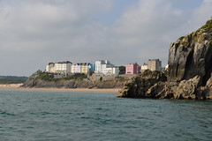 Photo of Tenby from the sea