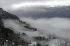Voss Fog (aha42   tehaha) Tags: fog voss norway norge noreg explored