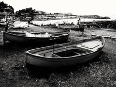 B&N (lucianoserra490) Tags: maredinverno biancoenero barche genova