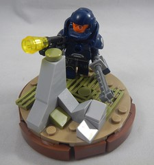 SPESS MUHREEN! (donuts_ftw) Tags: spacemarine lego scifi chainsword base collectableminifigures minfig