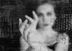 Hands (posterboy2007) Tags: hands hand focus bw portrait ballerina girl schoolgirl grunge