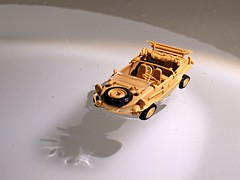 Schwimmwagen in Sink (orangechallenger) Tags: vw volkswagen model military models vehicles type kit tamiya 82 amphicar amphibious 166