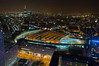 View on Waterloo Station, The Shard (Inklaar) Tags: england london night nacht unitedkingdom londoneye southbank clear ferriswheel southwark engeland 2012 reuzenrad londen vogelperspectief x100 birdseyeperspective verenigdkoninkrijk theshard fujifilmx100 inklaar:see=all
