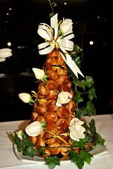 croquembouche (Ian Riley [on the right side of the fence]) Tags: birthday party food cake cafe italian australia adelaide paparazzi malvern sa southaustralia croquembouche