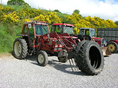 DSCN3394. Fiat tractor (ronnie.cameron2009) Tags: tractor scotland fiat scottish mart dingwall scottishhighlands rossshire highlandsofscotland rosscromarty dingwallrosscromarty humberstonauctionmart humberstonauction highlaandsofscotland scottishhighlandsofscotland