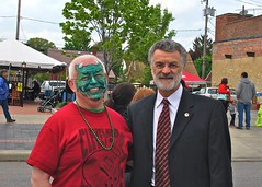 Joe Outlaw and Mayor Frank Jackson (West Park Wizard) Tags: cleveland outlaw hooley 2013