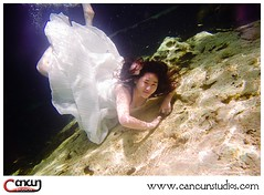 Cancun-Photographer_0947 (CancunStudiosPhotography) Tags: beach underwater cenote winner cancun cave trashthedress