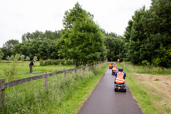 (Peter de Krom) Tags: golf scooters maassluis vlaardingen mobility scootrangers