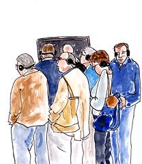 Frans Hals Museum, Haarlem (h e r m a n) Tags: show art haarlem museum drawing kunst diary journal free herman gratis rubens rembrandt illustratie tentoonstelling tekening franshals franshalsmuseum dagboek audiotour 2013 museumvisitor titiaan museumbezoeker