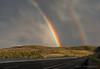 I Found Somewhere...(3) (Amy Hudechek Photography) Tags: road travel vacation storm rain utah rainbow amy freeway interstate i70 interstate70 highway70 happyphotographer hudechek