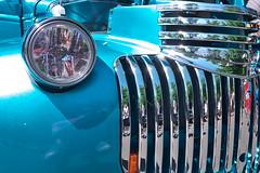 Chevy Grille (Mr.LeeCP) Tags: summer car vintage washington kirkland