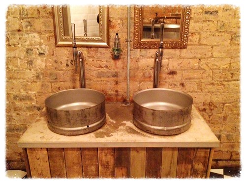 Sinks at The Hanging Bat. Installing a Bathroom Faucet DIY   Kitchen Delight