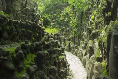 Rock Garden (Ravi - 3R) Tags: park rock stone garden pathway industrialwaste uploaded:by=flickrmobile flickriosapp:filter=nofilter