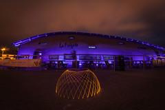 Light dome--1 (Nigel grieves) Tags: longexposure lightpainting night dark lowlight jersey domes canon1022mm jerseyci canon60d nigel176