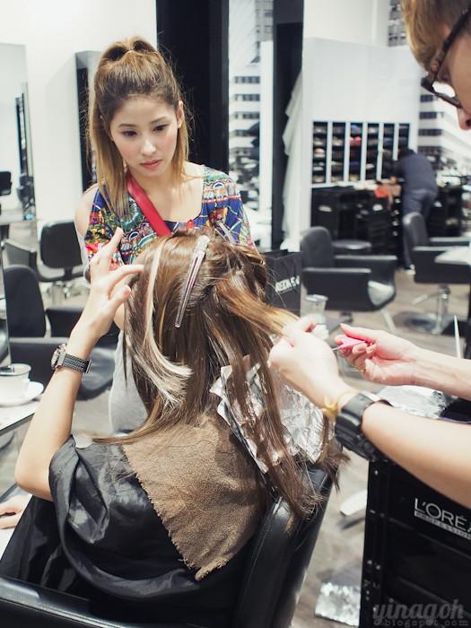 Salon Vim New Hair Color Arimino Privy Treatment