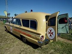 1963 Ford FC Fairlane 500 ambulance - Bourke District