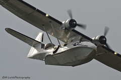 Catalina showing off. (M. Leith Photography) Tags: last scotland nikon fife aviation 300mm airshow nikkor ever f4 2013 rafleuchars d7000 markleithphotography