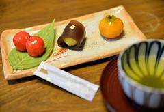 "Tea time (H. Samuel S.) Tags: 和菓子 coth supershot bej diamondclassphotographer flickrdiamond coth5 ""japanene sweets"""