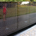 Maya Lin, Vietnam Veterans Memorial, detail with reflection