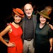 Tara O'Grady and Sasha Papernik - @ The Cell Theater NYC with author Peter Quinn