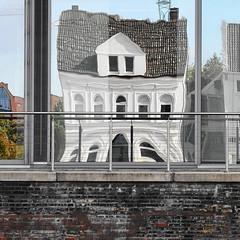 distortion of the white house (locum60) Tags: distortion reflection nikon hamburg reflexion harburg verzerrung d7000 guessedbymueslikueken