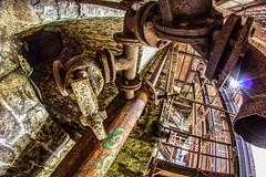 Ironage, Stoneage (RichyBee) Tags: mine pipe ruin urbex cheratte