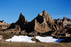 Badlands in Winter (tigertrout62bob) Tags: southdakota badlandsnp governmentshutdownsnow