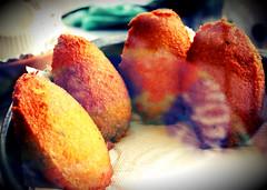 Acaraj (ossadah) Tags: original hotdog onion budweiser fogo brahma boteco coxinha cachaa chopp frutosdomar petisco churrasquinho acaraje natalicio