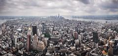 View from Empire State Building - looking South.jpg (*SM*) Tags: panorama newyork skyline architecture skyscraper midtown empirestatebuilding lowermanhattan