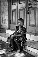 Moshi girl B&W (Janko Jerinic) Tags: africa bw white black kilimanjaro monochrome tanzania documentary safari moshi chagga