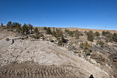 LA17 (Andrew.AIRNM) Tags: new industry mexico concrete los pond earth air erosion soil cloth alamos alternative resources miliken vision:mountain=0806 vision:outdoor=099 vision:clouds=0811 vision:ocean=0562 vision:sky=0881