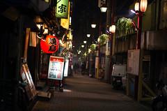 Shinjuku Omoide Yokocho (mila-sera) Tags: japan night tokyo shinjuku pentax fa43mm k5iis