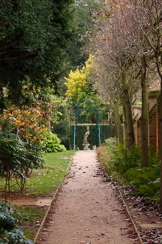 Bridge End Gardens Saffron alden Essex November 2013