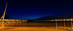 Nocturna en Salou / Night Falls in Salou (On explore 16/11/2013) (aldairuber) Tags: nightphotography night mediterraneo nightshot tarragona mediterraneansea salou goldcoast fotonocturna costadorada marmediterraneo fotografíanocturna potd:country=es flickr12days