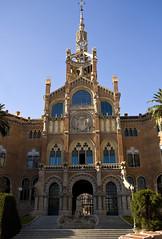 IMG_6460 Hospital de Sant Pau - UNESCO World Heritage Site (jaro-es) Tags: barcelona espaa architecture canon spain unesco architektur spanien architektura spanelsko eos450