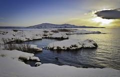 Þingvallavatn (geh2012) Tags: cloud sun lake iceland þingvellir ísland vatn sól ský geh þingvallavatn gunnareiríkur