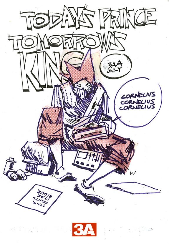 threeA 無預警突擊販售Cornelius the TK!