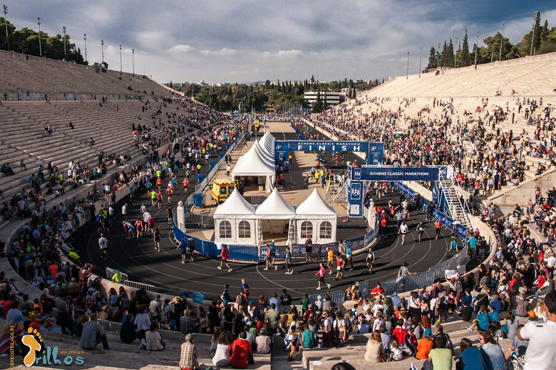 Dia de Maratona (Estádio Panathinaiko)