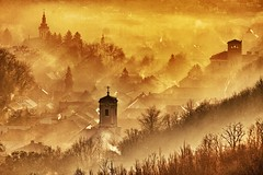 Home is wherever I love you! (Cristian Ştefănescu) Tags: winter fog evening smog nebel fav50 romania banat iarna fum fav25 fav100 seara oravita ceaţă outstandingromanianphotographers uploaded:by=flickrmobile flickriosapp:filter=nofilter