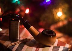 Christmas Pipe (Adam Roades) Tags: christmas tree pipe smoking tobacco meerschaum