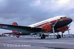 DOUGLAS C47A DAKOTA ZA947 ROYAL AIRCRAFT ESTABLISHMENT (shanairpic) Tags: military rae dc3 raf c47 propliner douglasdakota za947