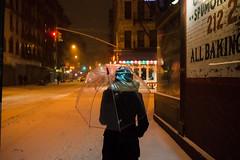 Umbrella vs Snowstorm Hercules, LES (Dan Nguyen @ New York City) Tags: nyc winter snow manhattan gothamist blizzard