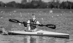 Jeannette Chippington 6 (jerry_lake) Tags: kayak rowing k1 plastex dorneylake 14xteleconverter nikon200mmf2 gbcanoeing lightroom53 2012paracanoeeuropeanchampion jeannettechippington paracanoeworldchampion rio2016training
