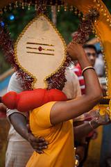 Kavadi Bearer, Thaipusam 2014 (syukaery) Tags: travel people holiday festival asian asia indian faith religion culture celebration malaysia ritual kualalumpur hindu hinduism tamil batucaves thaipusam humaninterest 2014