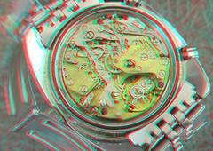 Heuer Autavia Diver 100 3D movement (lambo_photo) Tags: clock vintage 3d movement watch helmet skipper anaglyph monaco camaro arabic stereo diver bund chronograph hunt carrera heuer regazzoni dato lauda laffite autavia