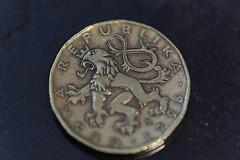 1998 Czech coin (SdcRX4) Tags: coin czech 1998 canon5d3 tamronaf180mmf35spdildifmacro